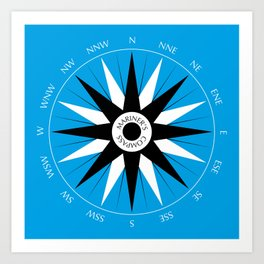 Mariner's Compass Art Print