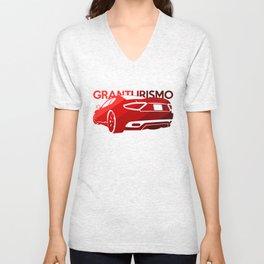 Maserati GranTurismo S - classic red - Unisex V-Neck