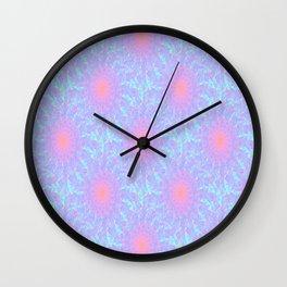 Fragmented Pattern Wall Clock