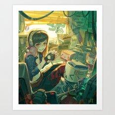 The lifemaker Art Print