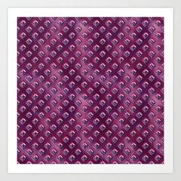 Futuristic Purple Art Print