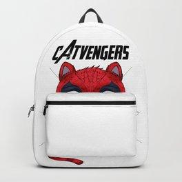 cat-venger super hero funny Backpack