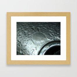 Down the Drain Framed Art Print
