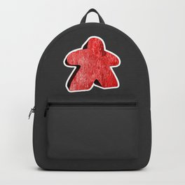 Giant Red Meeple Backpack