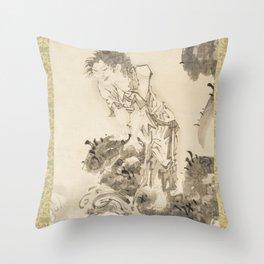 Soga Shōhaku - Daoist Immortal Throw Pillow