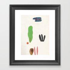 bottom of the jungle Framed Art Print