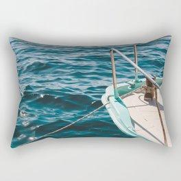 BOAT - WATER - SEA - PHOTOGRAPHY Rectangular Pillow