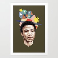 caleb troy Art Prints featuring Troy by mycolour