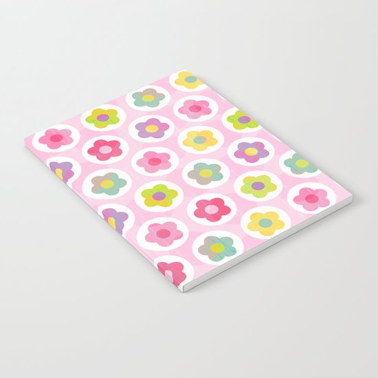 LAZY DAISY PINK Notebook