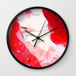 Crackle #9 Wall Clock
