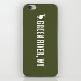 Deer: Green River, Wyoming iPhone Skin