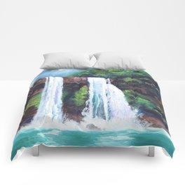 Wailua Falls Comforters