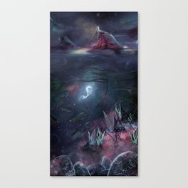 The Song of the Sea Canvas Print