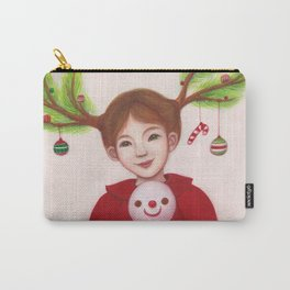 HAPPY CHRISTMAS Carry-All Pouch