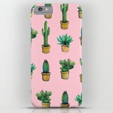 cactus pink iPhone 6 Plus Slim Case