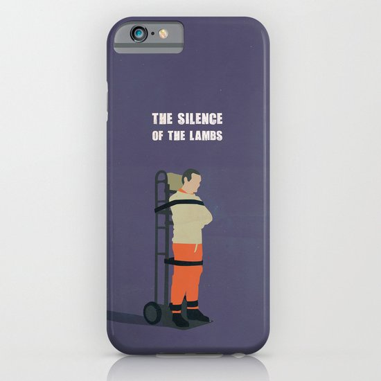 The Silence Of The Lambs Minimalist iPhone & iPod Case