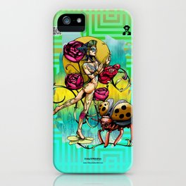 Madame Ladybotté Butterfly of Lovers' Vale iPhone Case