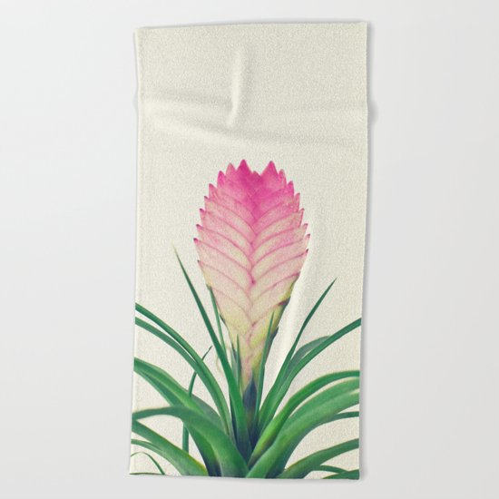 Bromelia II Beach Towel