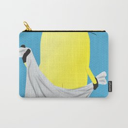 keepin it clean blue Carry-All Pouch