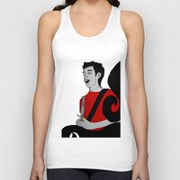 charlie Tank Tops featuring Charlie by Feral Doe