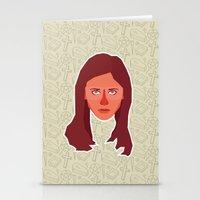 buffy Stationery Cards featuring Buffy Summers - Buffy the Vampire Slayer by Kuki