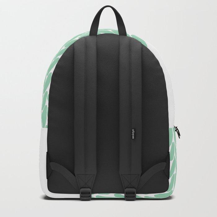 Half Knit Mint Backpack
