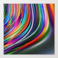 aurora Canvas Prints featuring Aurora by David  Gough