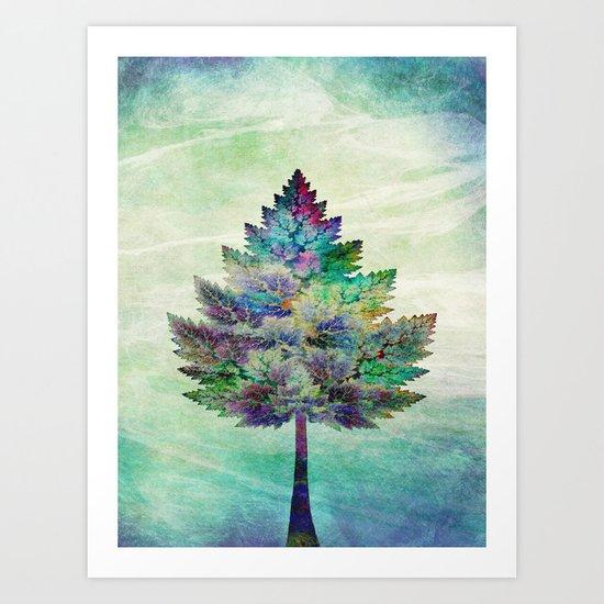 The Magical Tree Art Print