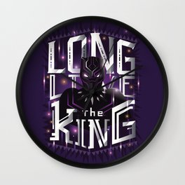 Long live the king v2 Wall Clock