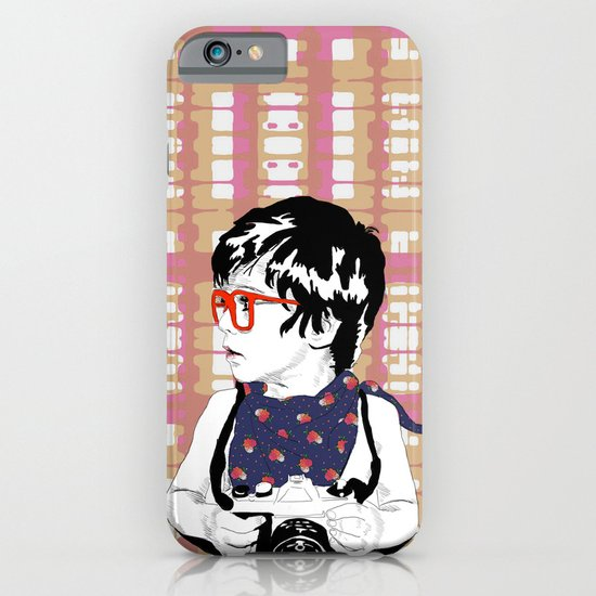 Red Glasses iPhone & iPod Case