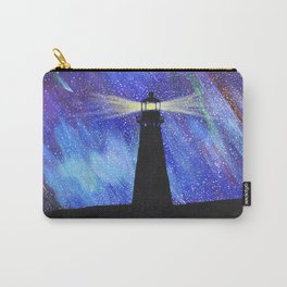 Lighthouse Starry Night Carry-All Pouch