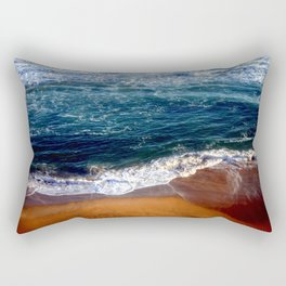 Turbulance Rectangular Pillow