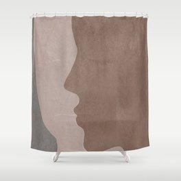 Next to Me Shower Curtain