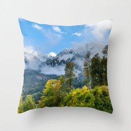 Mount Fisht Throw Pillow