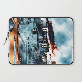 Blue Gray Day Laptop Sleeve