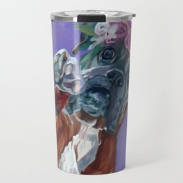 Hazel the Princess Boxer Girl Travel Mug