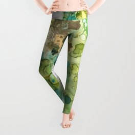 Lime Splash Leggings