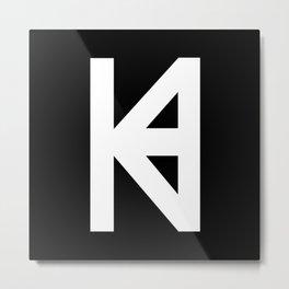 HK Logo  Metal Print