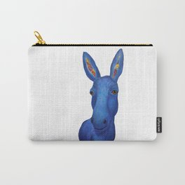 Blue Donkey Carry-All Pouch