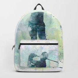 Golfer 3 Backpack