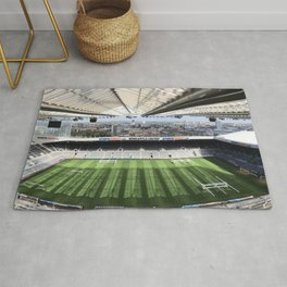 Newcastle Football Photography Rug