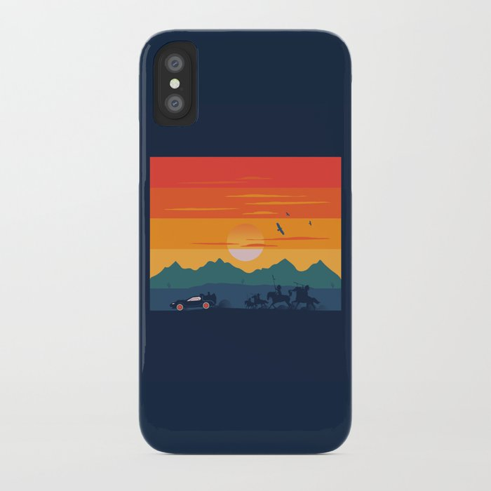 Back to the Wild West iPhone Case