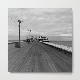 Oh, I Do Like To Be Beside The Seaside Metal Print