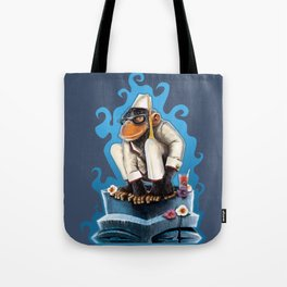Cosmo At The Moon Palace Tote Bag