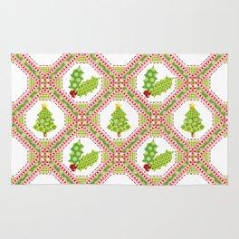 Polka Dot Christmas Rug