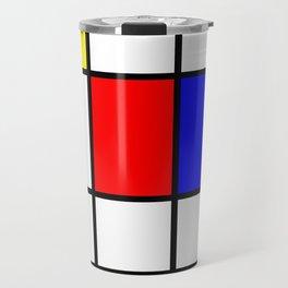 Mondrian #64 Travel Mug