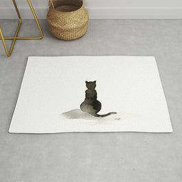 I Love Cats No. 2 by Kathy Morton Stanion Rug