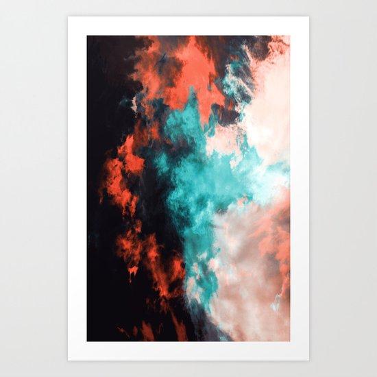 Painted Clouds VII (Phoenix) Art Print
