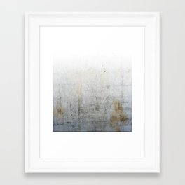 Concrete Style Texture Framed Art Print