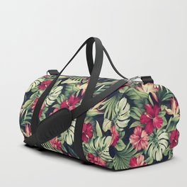 Night tropical garden Duffle Bag